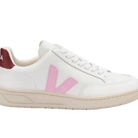 Veja Shoes   Pink And Red Veja Sneakers